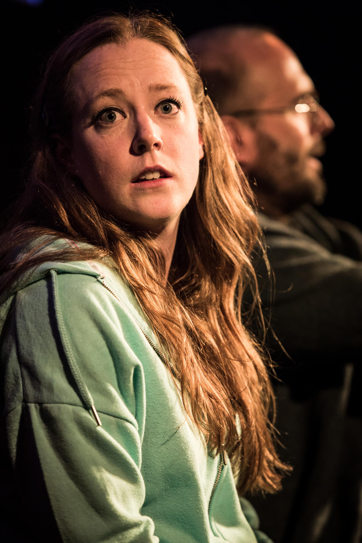 Zoe Swenson-Graham and Henry Everett in Autobahn, King's Head Theatre 2 - (c) Scott Rylander