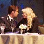 Asst. Commissioner Donald Doyle Davidson (Ben Mansfield) and Paige Britain (Lucy Punch) photo by Brinkhoff Mögenburg