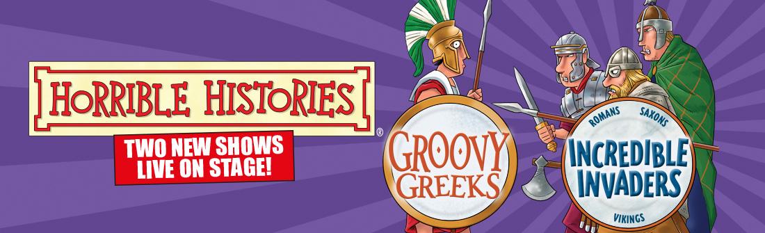 Groovy Greeks Incredible Invaders