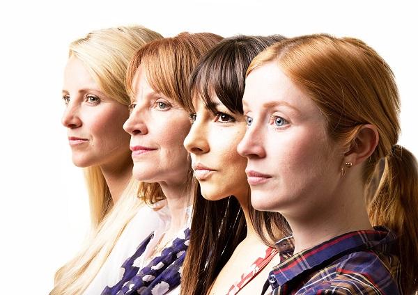 Some Girl(s) - Bobbi (Carley Stenson), Lindsay (Carolyn Backhouse), Tyler (Roxanne Pallett) and Sam (Elly Condron). Credit Darren Bell (2).jpg