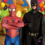 Spider and Batman