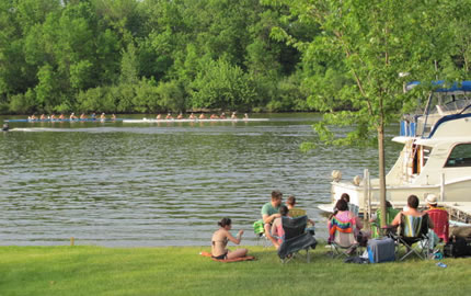 A Picnic on the Grand River