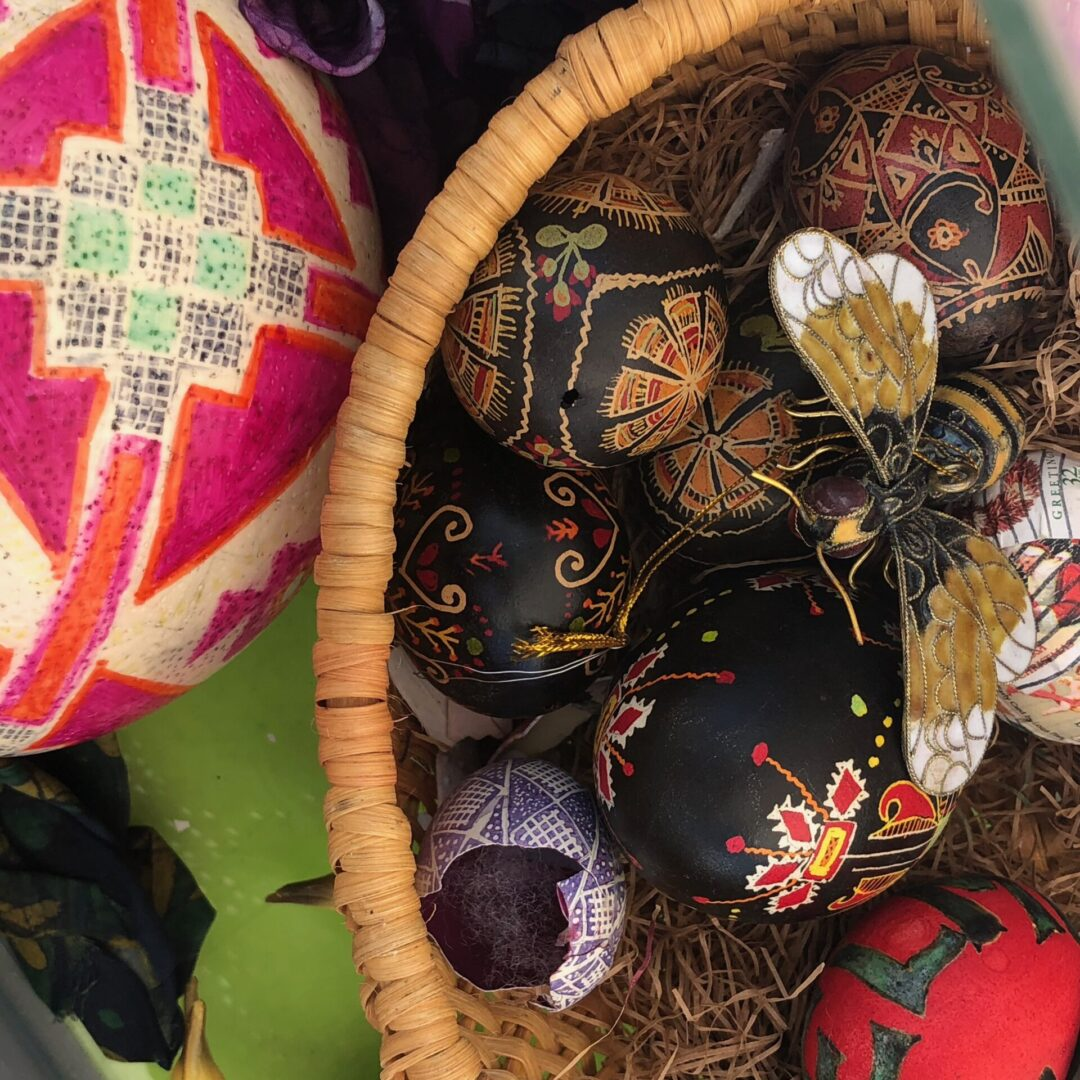 Items from the Folk Life festival
