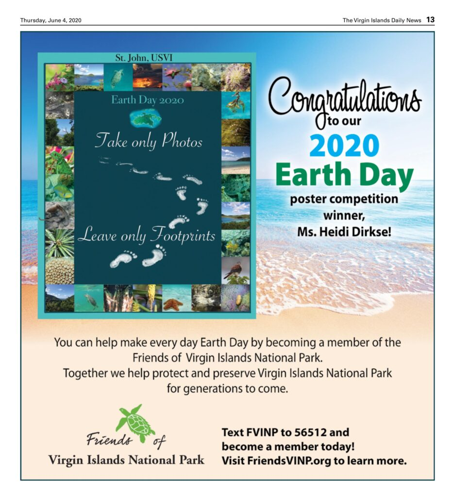 earth day poster ad daily news 060420