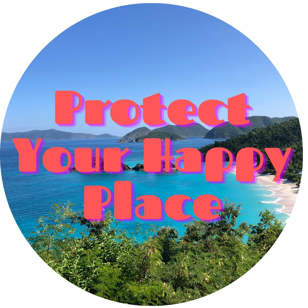 happy place round