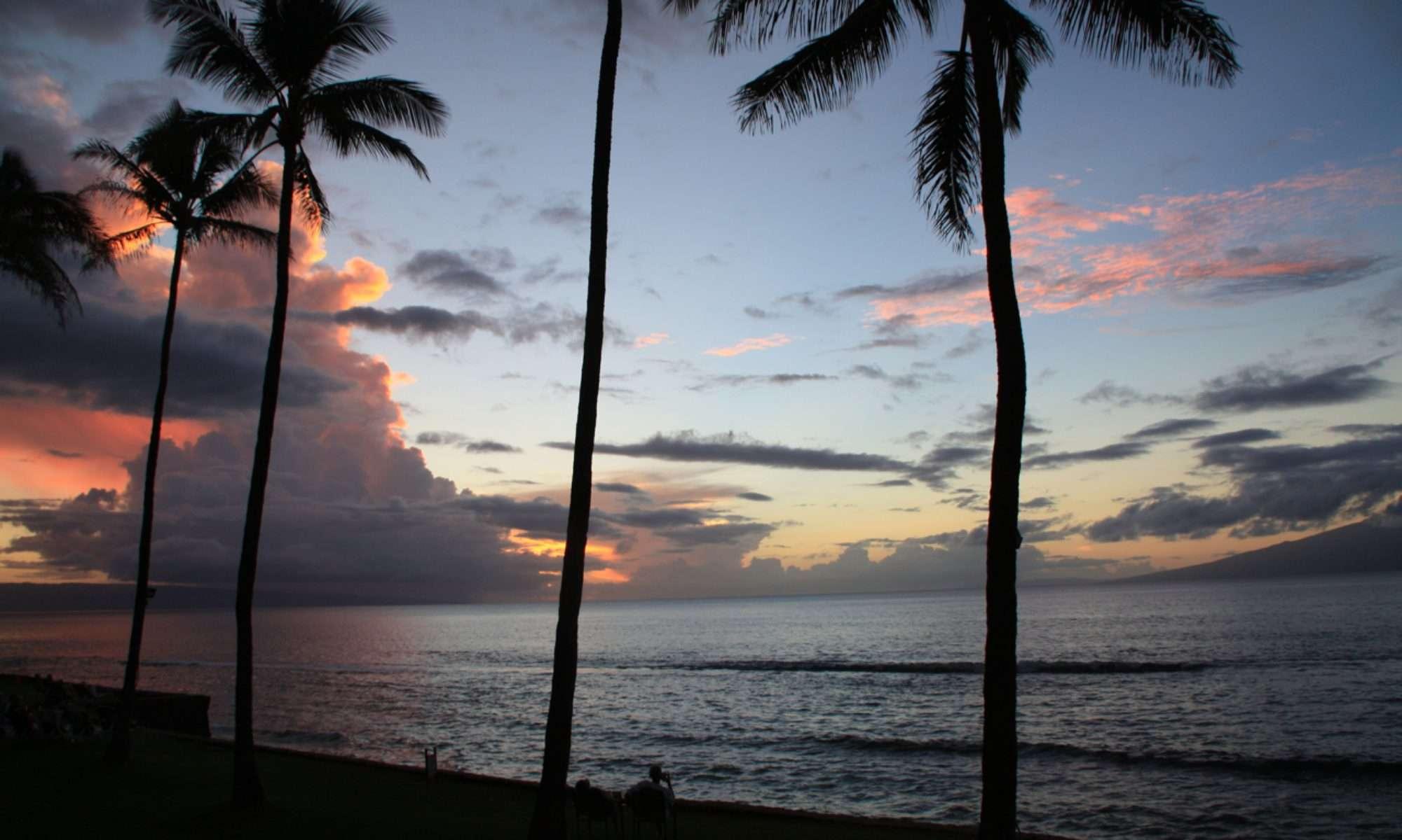 Papakea Resort sunset