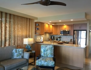 Papakea A209 living and kitchen