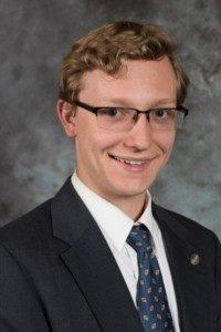 Seminarian Nathan Blanchard