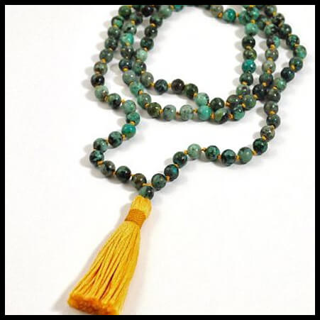 Mala Beaded Necklace