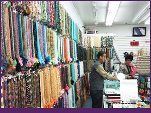 Shopping Tour for Gemstones and Findings at Stone International