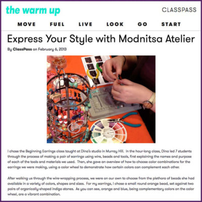 classpass express your style with modnitsa atelier feature