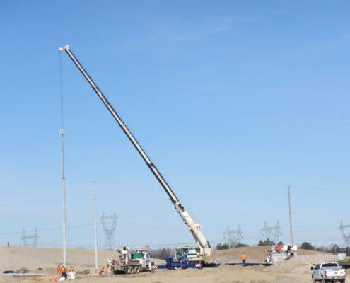 Utility Works at Major Mackenzie Drive