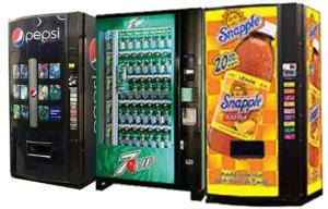 3 Vending Machines Options