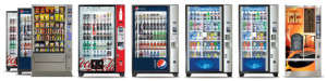 many vending machine options large