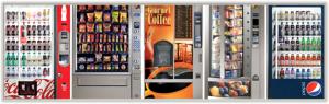 4 vending machine options