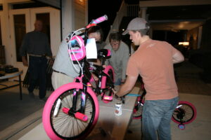 Bicycle build to join with Summerville Police Christmas Toy Drive