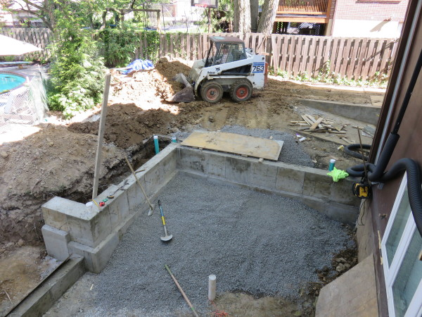 gravel under slab