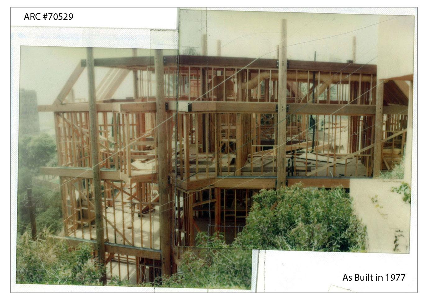 ARC-#70529_As built in 1977 (Framing)