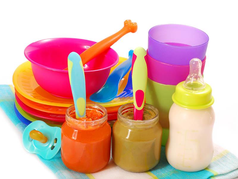 plastic baby dinnerware