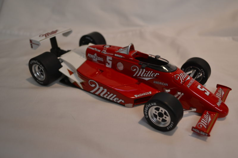 Replicarz 1985 Indy Win 1/18 scale Danny Sullivan Spin and Win