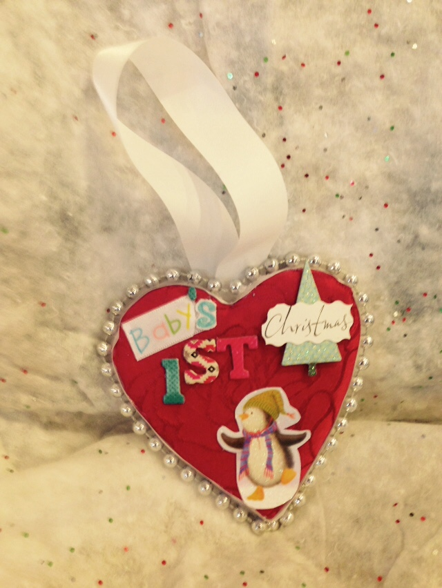 Baby's First Christmas Ornament  $10 plus shipping on Etsy
