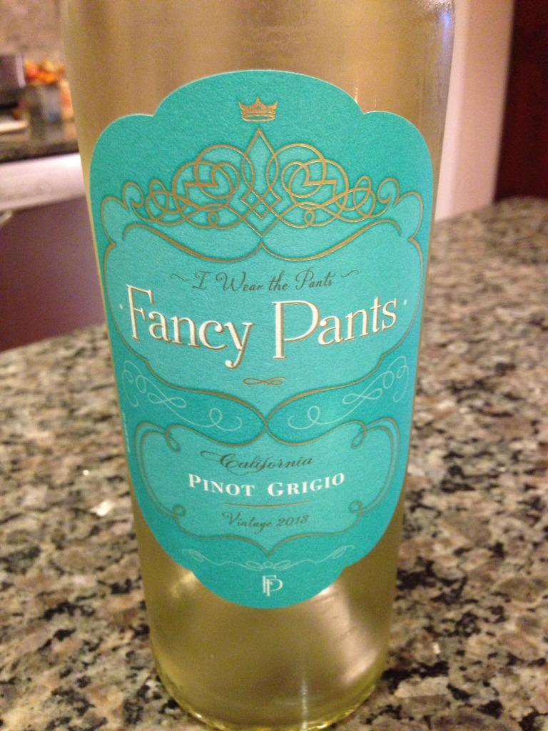 Pretty wine labels