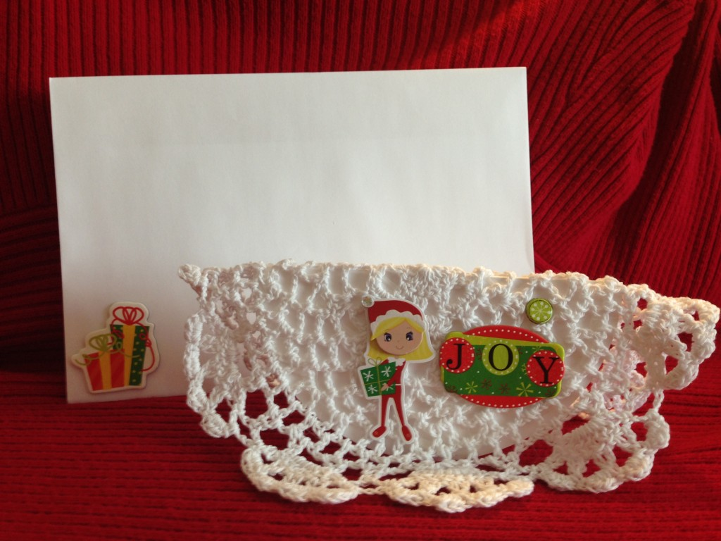 Card for little girl. Comes with large decorative envelope. Free with Pound Kit or Floor Pad.
