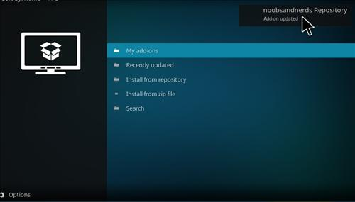 hHow to Install Noobs and Nerds Repository Kodi 17 Krypton step 13