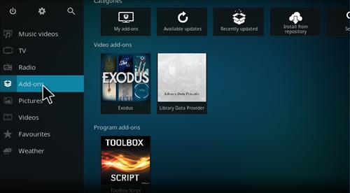 hHow to Install Noobs and Nerds Repository Kodi 17 Krypton step 8