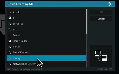 How to Install HD Movie 14 Kodi 17 Krypton step 11