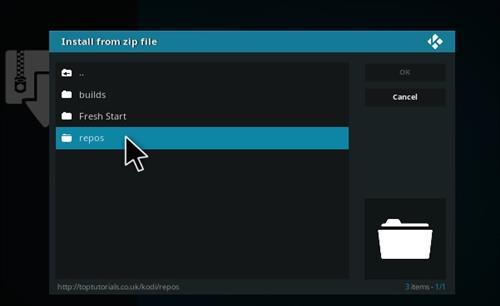 How to Install Perflix TV Repository Kodi 17.1 Krypton step 12