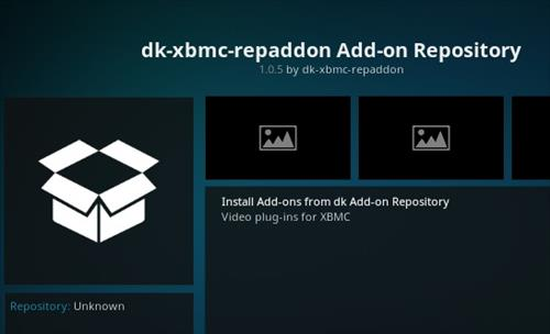 How to Install dk-xbmc-repaddon Add-on Repository pic 2