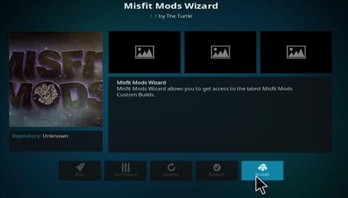 How to Install Misfit Mod Lite Kodi Build with Screenshots step 18
