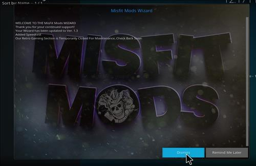How to Install Misfit Mod Lite Kodi Build with Screenshots step 20
