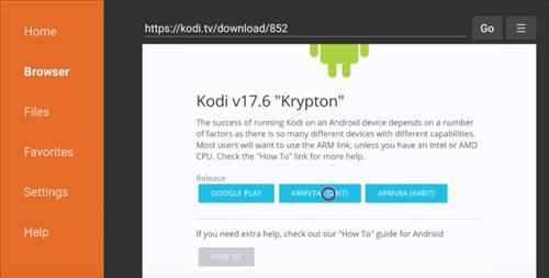 How To Install New Kodi 17.5 on Fire TV Stick or Fire TV step 20