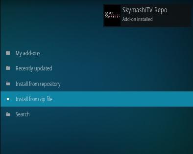 How To Install SkymashiTV Kodi Repository Step 13