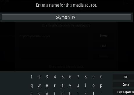 How To Install SkymashiTV Kodi Repository Step 6