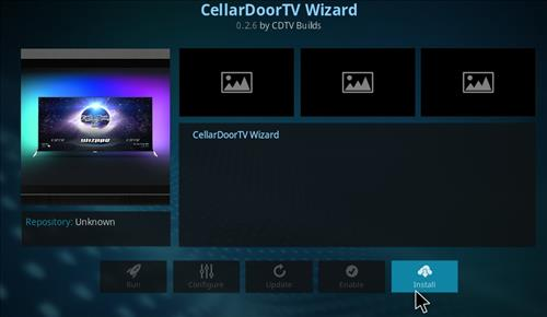 How to Install Cellar Door TV Build with Screenshots step 18