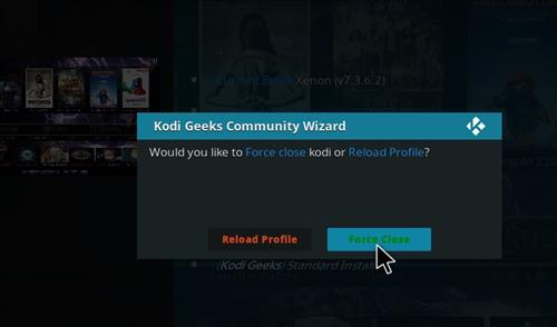 How to Install Xenon Diggz Kodi Build with Screenshots step 21