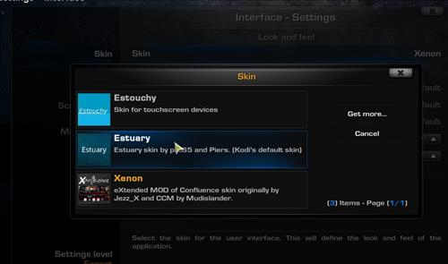 How to change the Skin back to Default Estuary xenon step 4