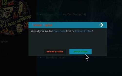 How to Install VooDoo Dark Kodi Build with Screenshots step 21