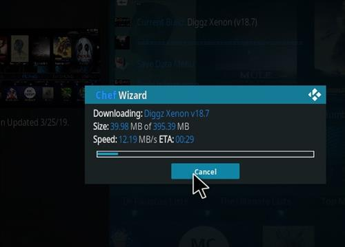 How to Install Diggz Xenon Kodi 18 Leia Build step 28