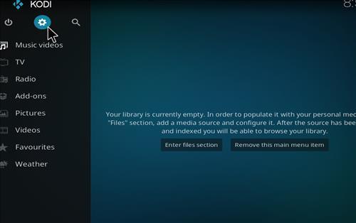 How to Install Flix Sport Kodi Add-on with Screenhots step 1