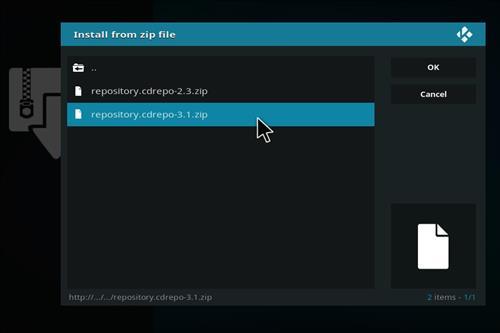 How to Install Flix Sport Kodi Add-on with Screenhots step 12