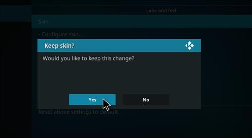 How to change the Skin back to Default Estuary bk nox. step 5