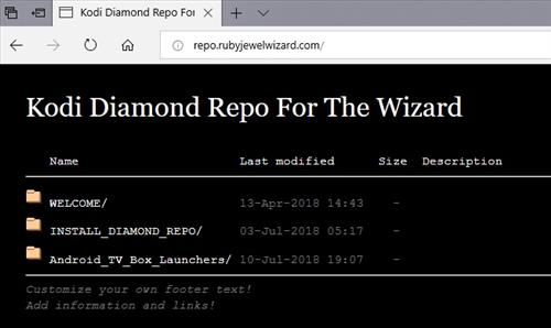 manual and download diamond wizard repo step 1