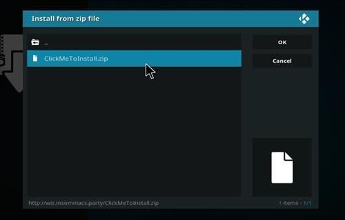 How to Install Neon Green Mini Kodi Build with Screenshots step 12