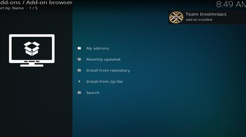 How to Install Neon Green Mini Kodi Build with Screenshots step 13