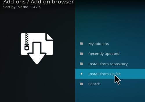 How to Install Slamious Kodi Build with Screenshots step 10