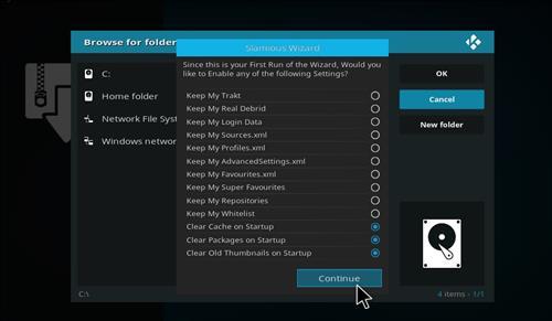 How to Install Slamious Kodi Build with Screenshots step 15